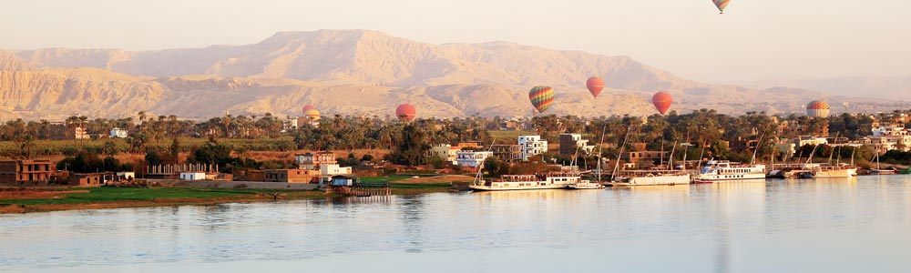 Tour Itinerary:Luxor Hot Air Balloon Tour